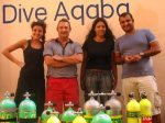Dorit_with Enas_Rod_and_Ashraf_owners_of_ Dive_Aqaba