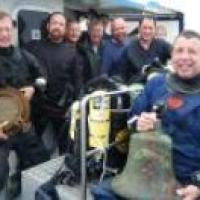 Armenian's Bell Recovered from 94 metres