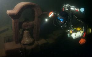 Wreck in the Gulf of Finland
