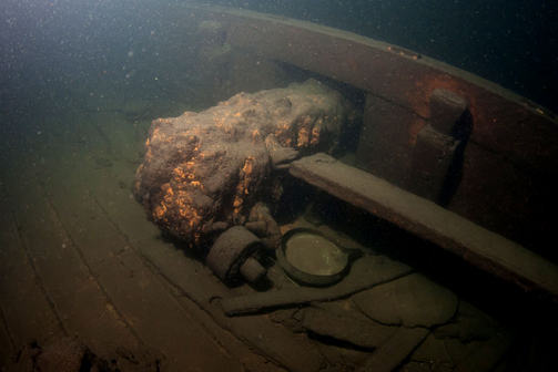 A mystery 18th century shipwreck found in the gulf of finlan.