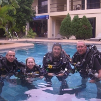 World's first PADI Tec CCR Instructors and Trainers