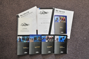 PADI Tec 100 CCR Educational Materials Now Available