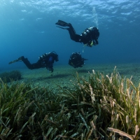 The first PADI Rebreather Instructor course in Greece