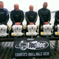 First PADI Rebreather Diver Courses using the Hollis Explorer Sports Rebreather in Australia