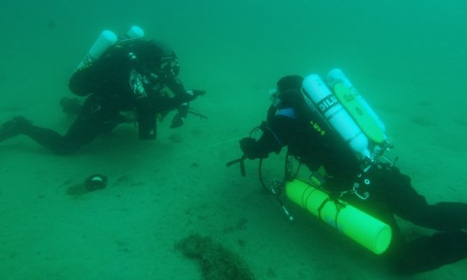 Teaching a student to dive the rEvo