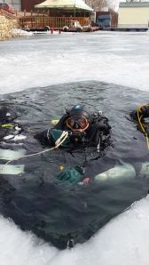 Ice Diving with Rebreathers in Russia