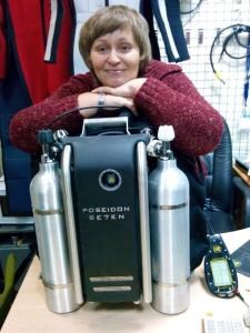 Presenting First Poseidon Se7en Rebreather in Russia
