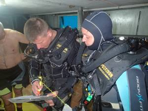 Teaching a PADI Pebreather Diver Course