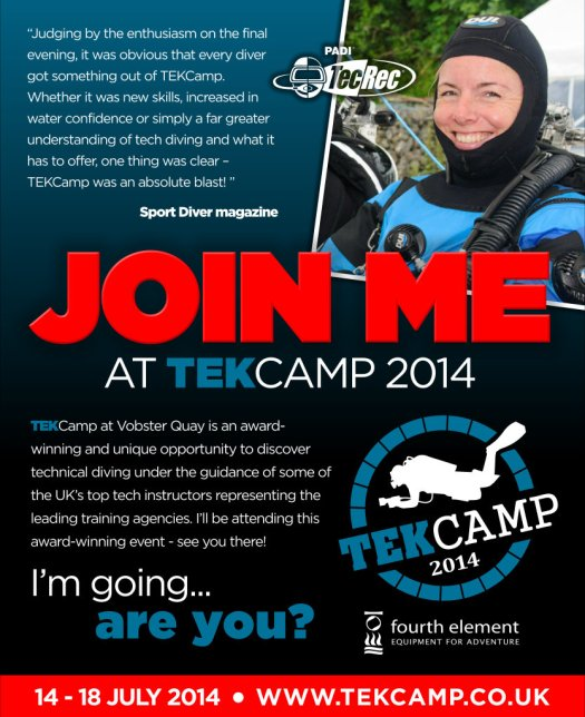 Visit www.tekcamp.co.uk to book your place!