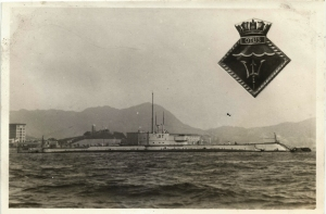HMS Otus- China Sea - 4th Submarine Flotilla