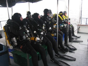 Open and Closed circuit tec divers