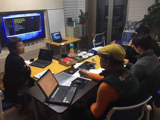 Korean Rebreather Instructor Trainer course
