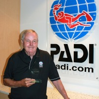 Oztek Award for PADI Manager!