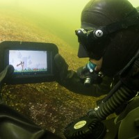 Attached to your tablet? Now, you can take it underwater!