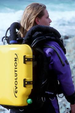 Nicky Finn product Manager for AP Diving