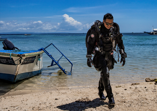 Tec Rec Diver - Beach - Scuba Diving - Tropical